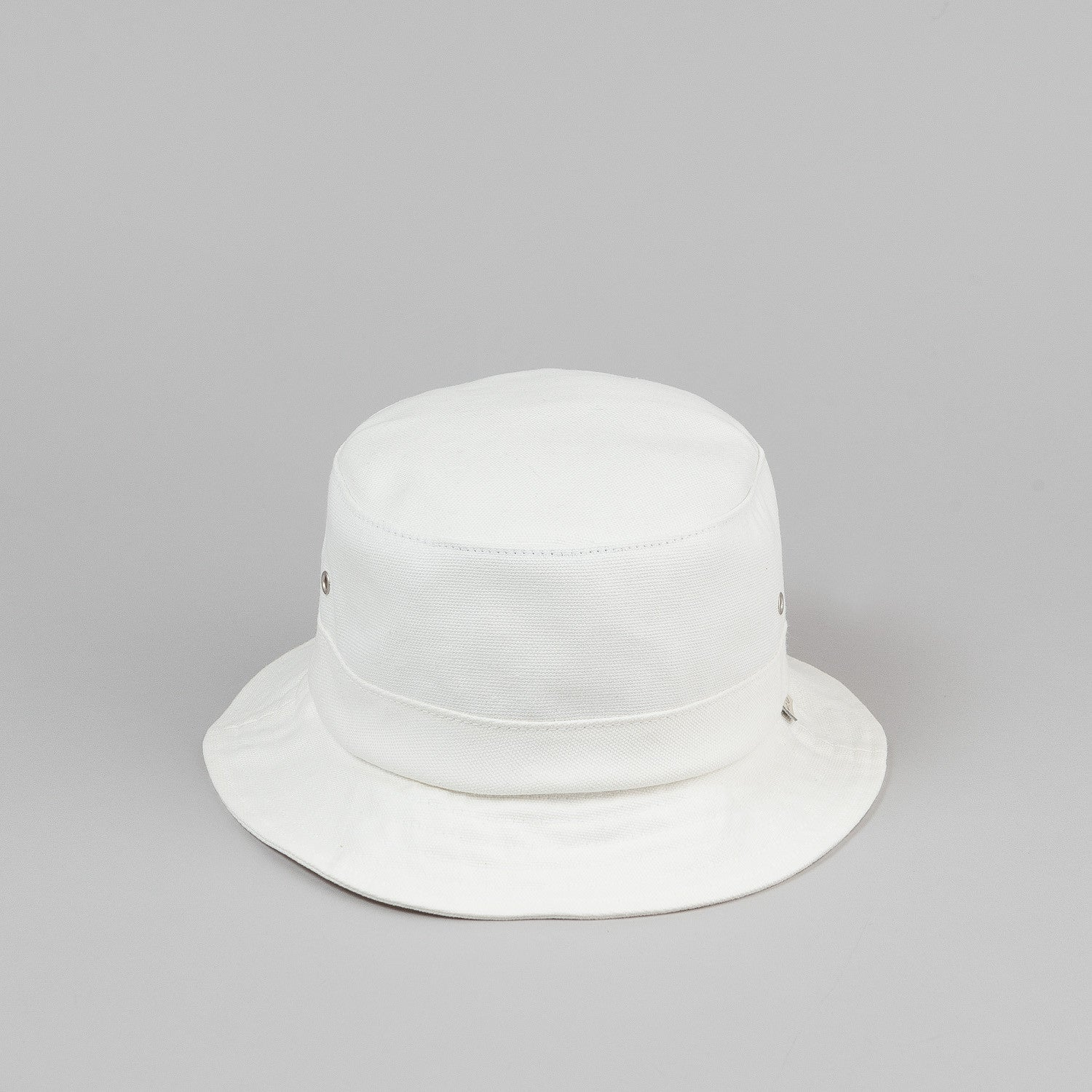HUF Canvas Bucket Hat - White