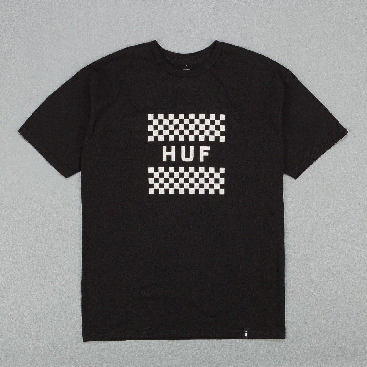Huf Checkerboard Box Logo T-Shirt
