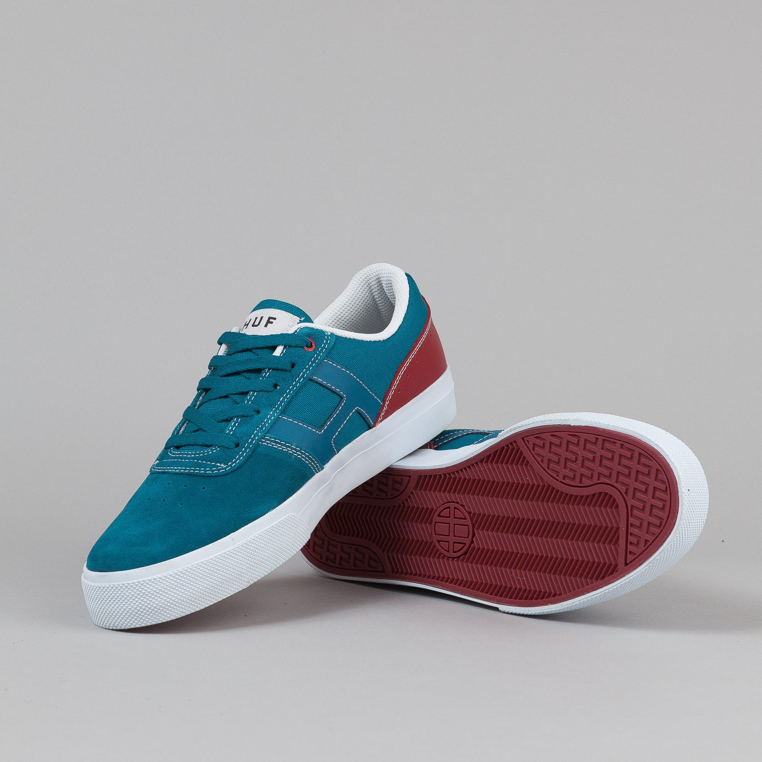 HUF Choice Shoes - Teal / Brick