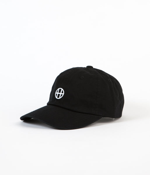 HUF Circle H 6 Panel Cap - Black