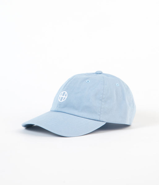 HUF Circle H 6 Panel Cap - Light Blue