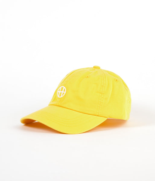 HUF Circle H 6 Panel Cap - Light Yellow