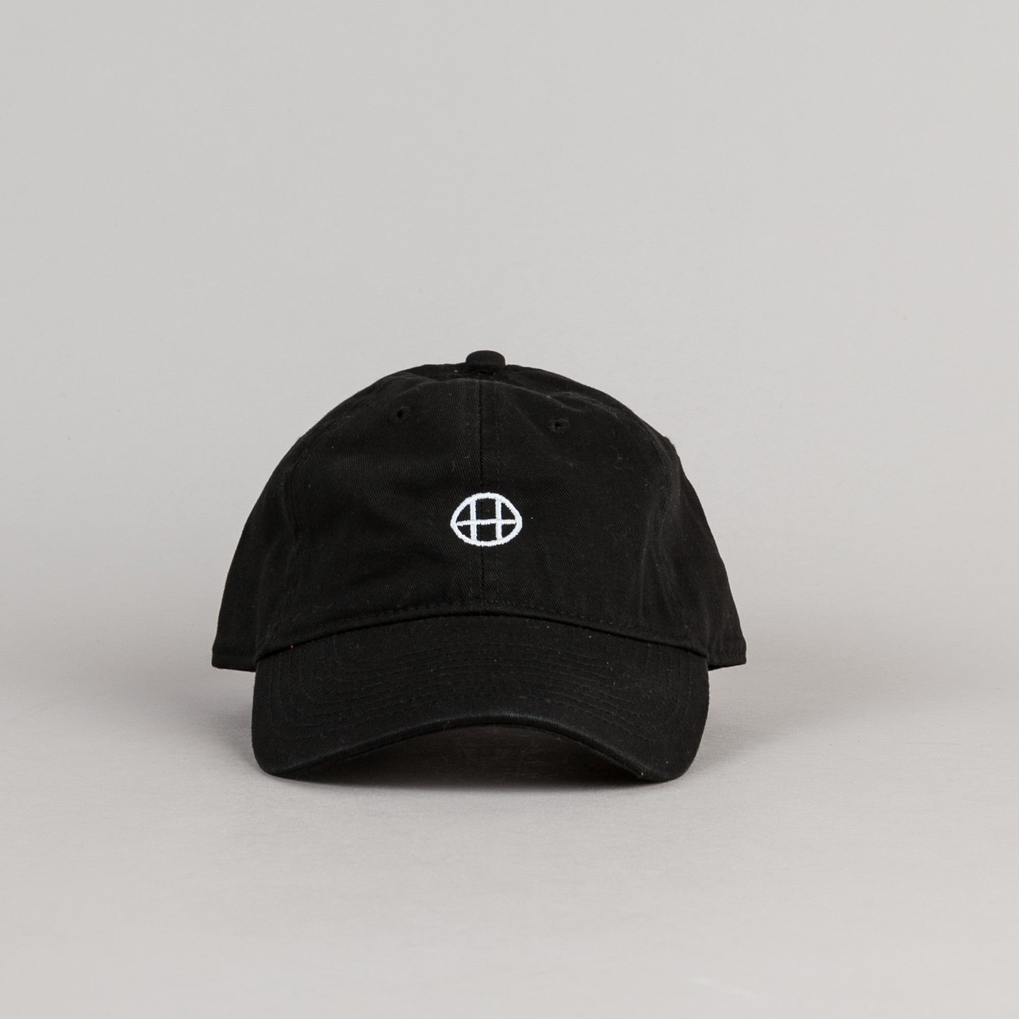 HUF Circle H Dad Cap - Black