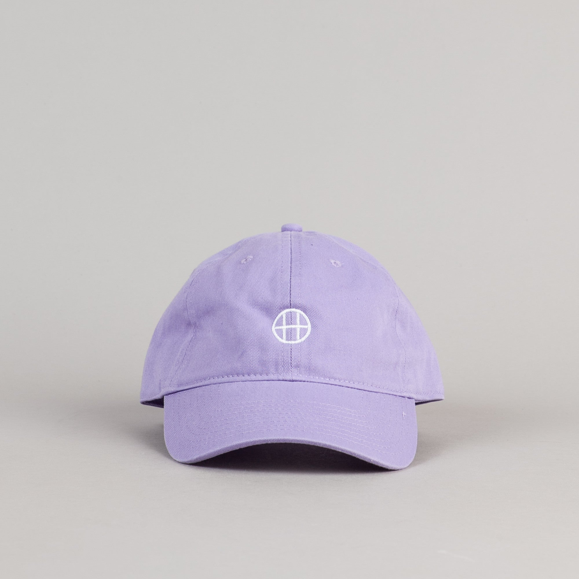 HUF Circle H Dad Cap - Baby Purple