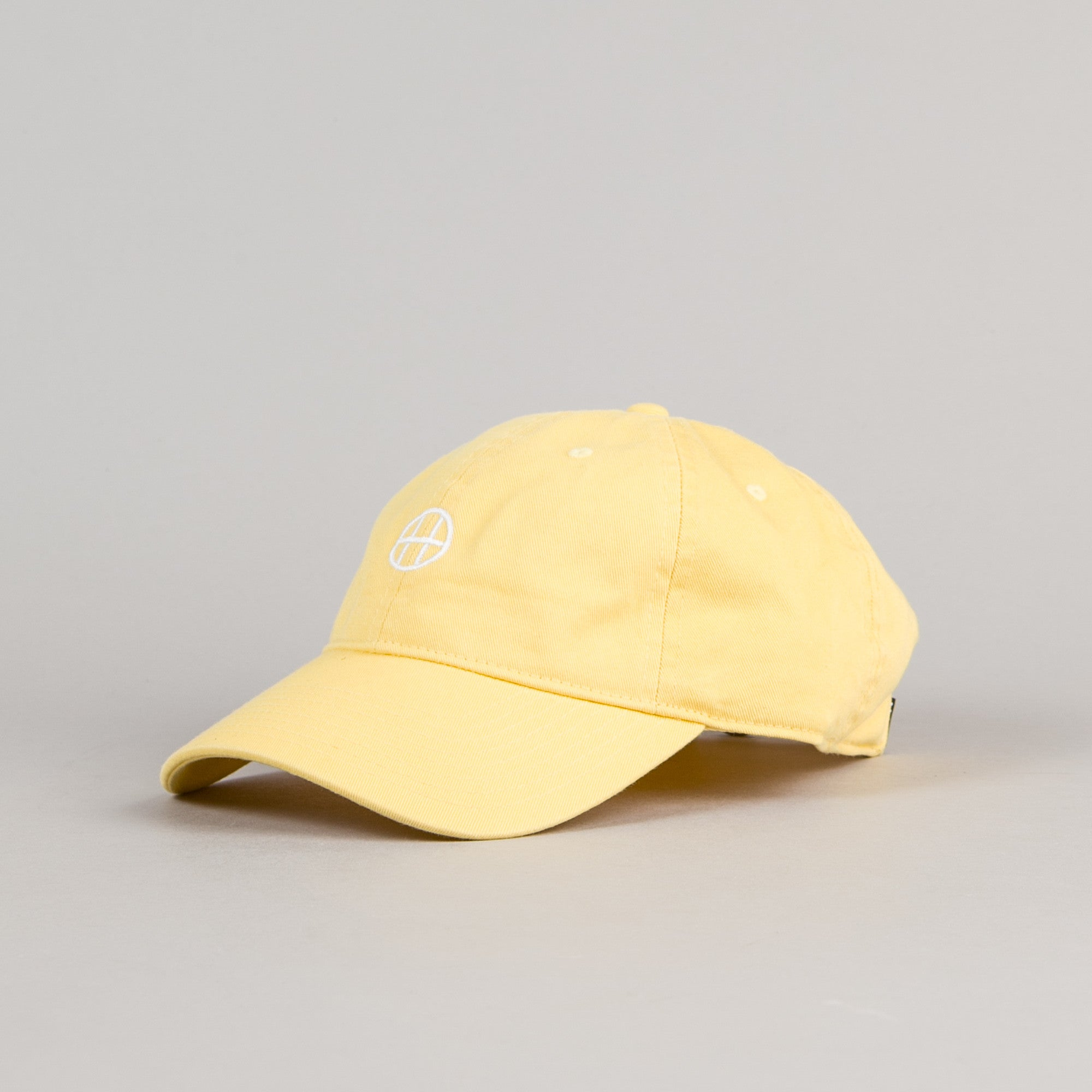 HUF Circle H Dad Cap - Baby Yellow