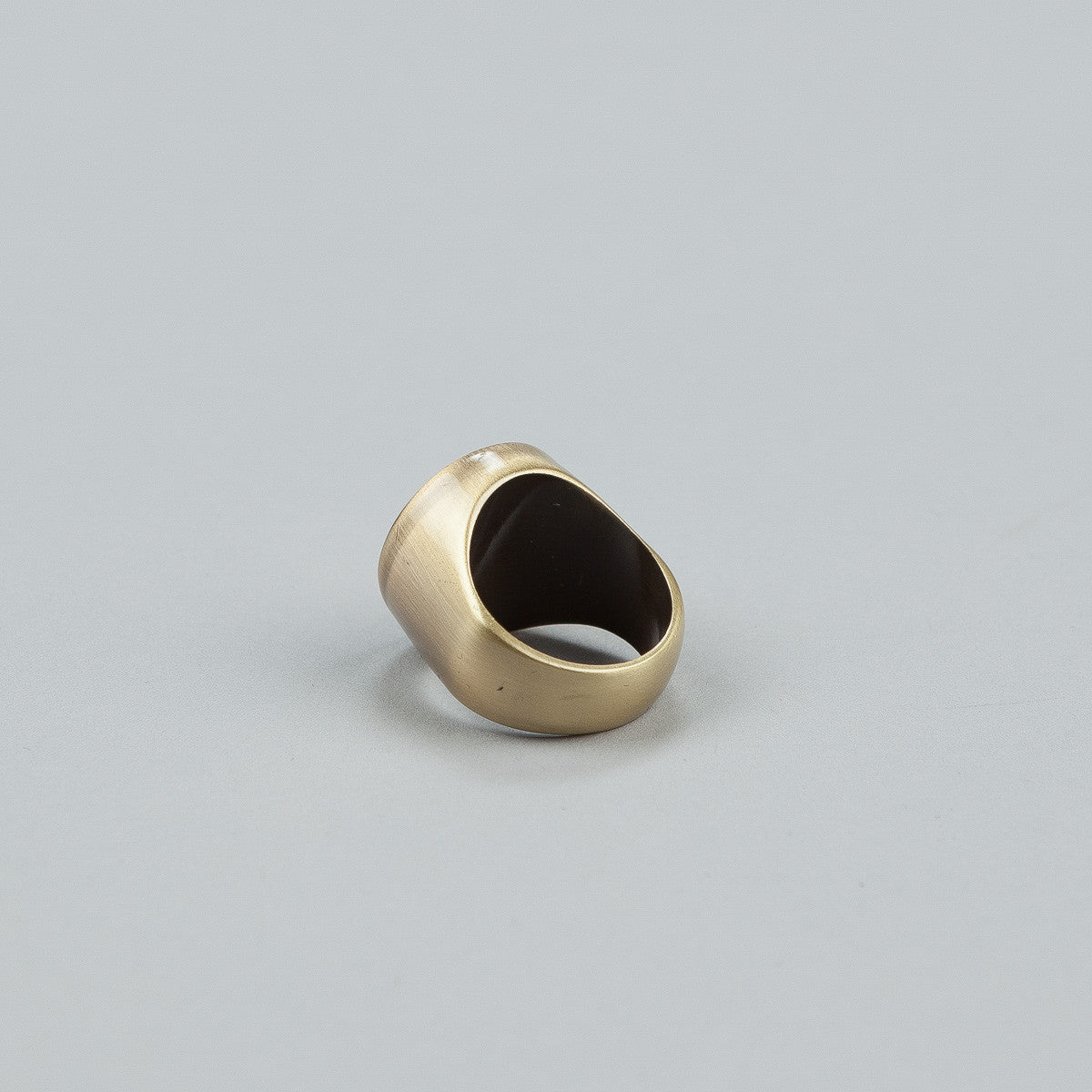 HUF Circle H Ring - Anti Brass
