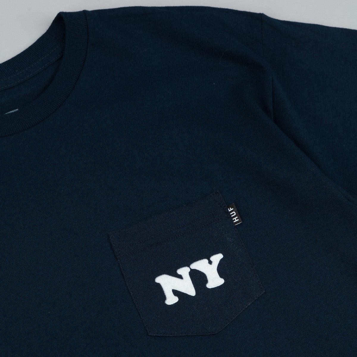 HUF Cities Pocket T-Shirt - Navy
