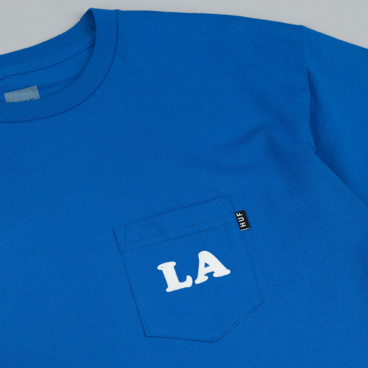 HUF Cities Pocket T-Shirt - Royal