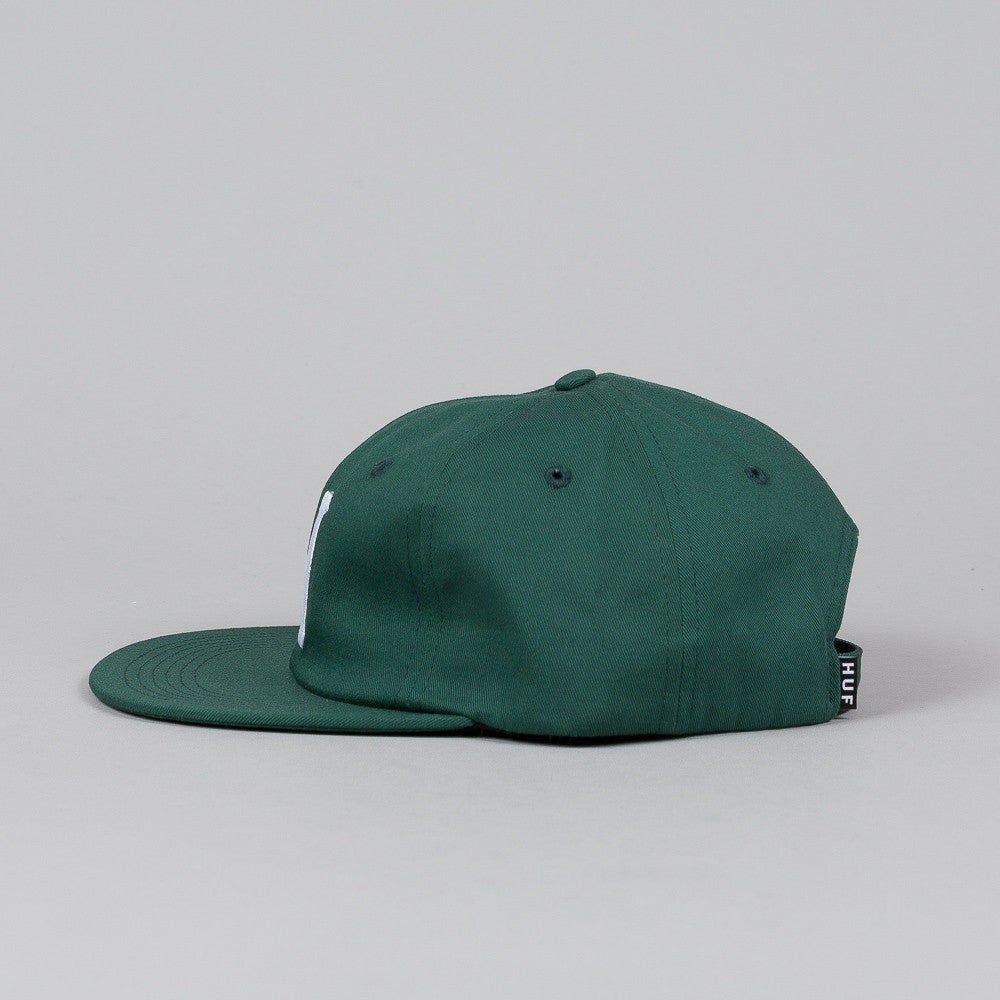 HUF Classic H 6 Panel Cap Forest