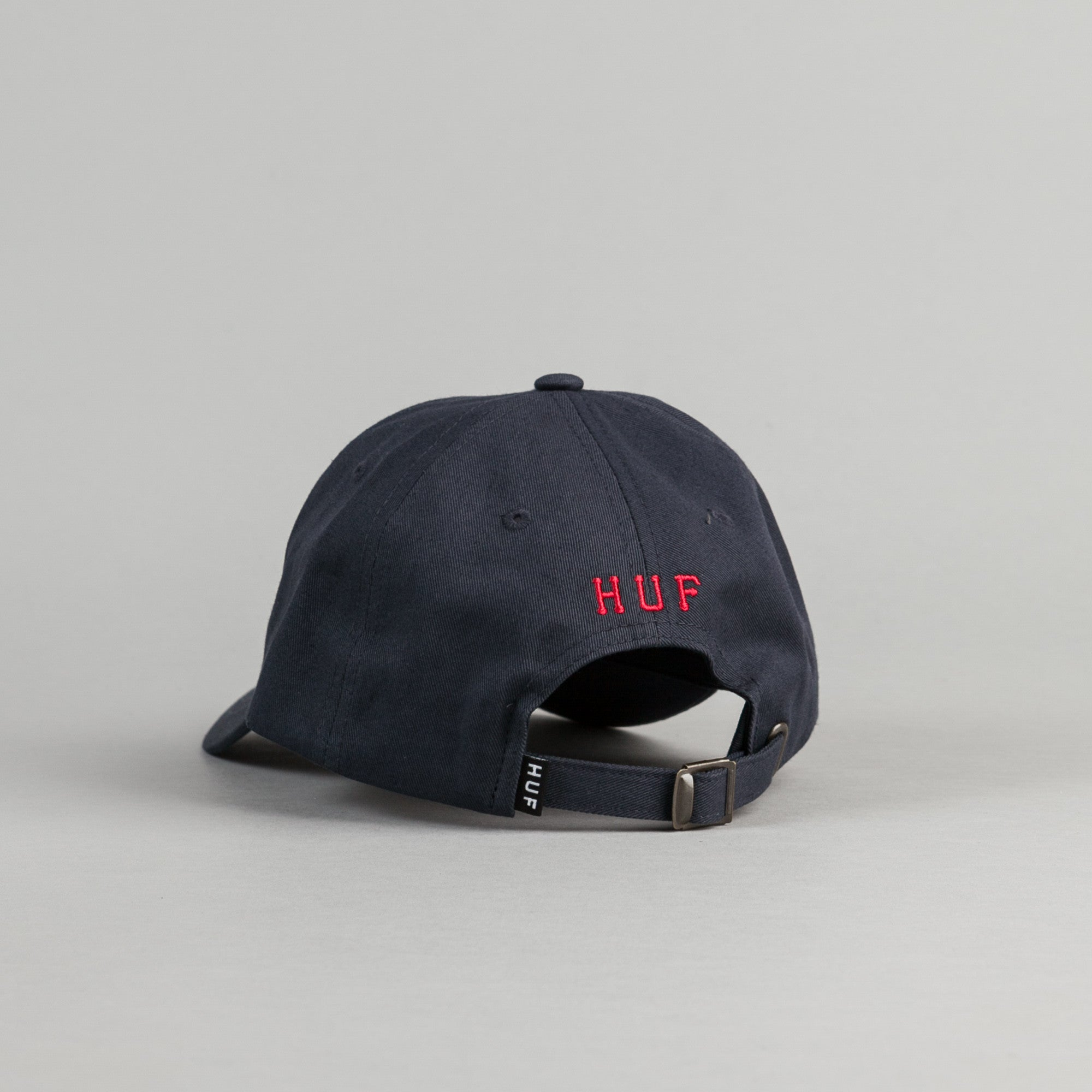 HUF Classic H Cap - Navy / Red