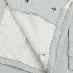 HUF Classic H Fleece Coaches Jacket - Heather Grey