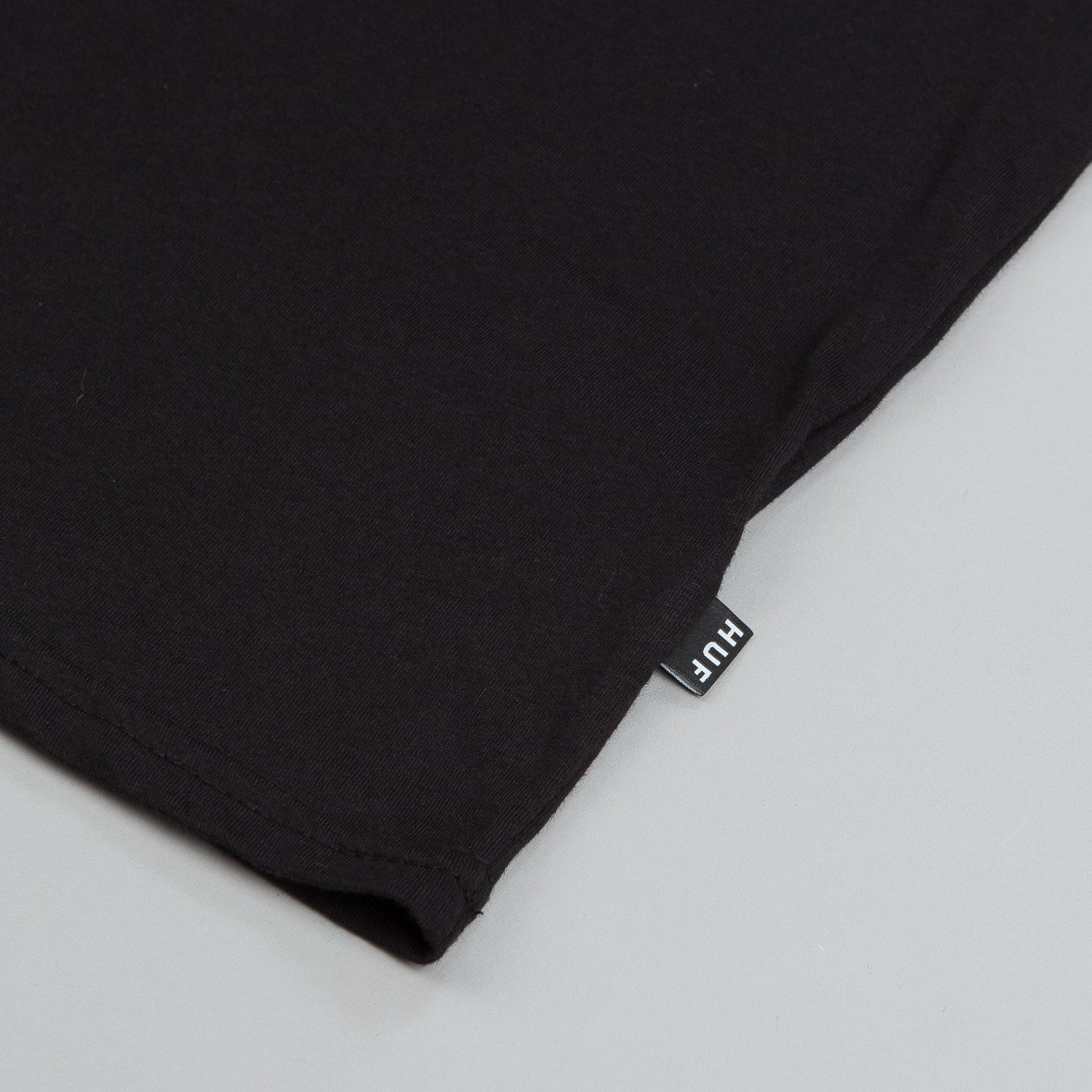 HUF Classic H Pocket T Shirt Black