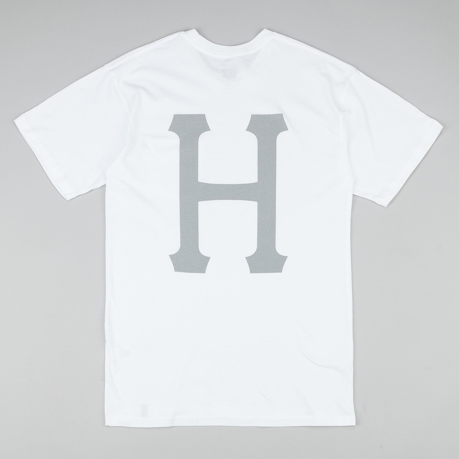 HUF Classic H Pocket T Shirt - White / Grey