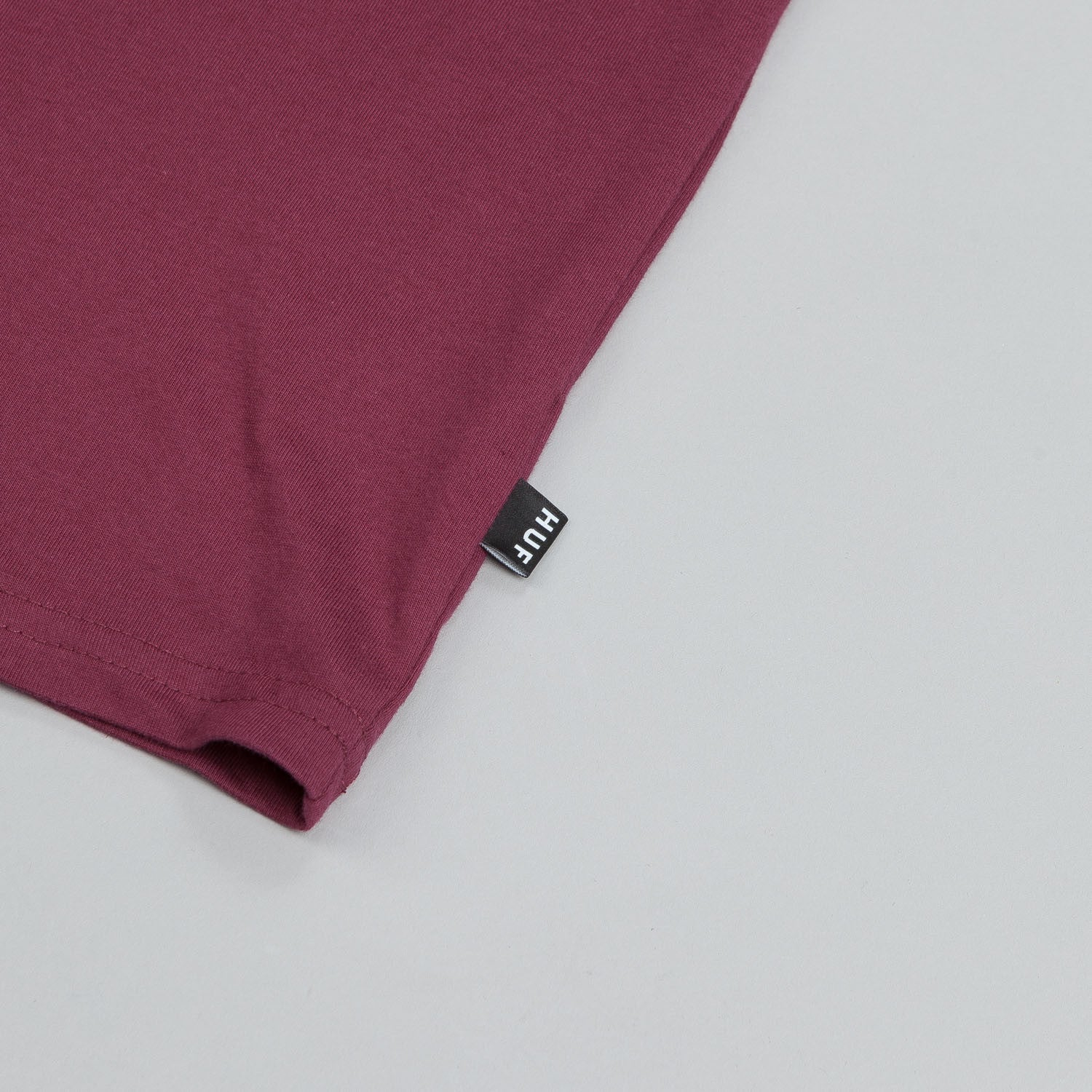 HUF Classic H Pocket T Shirt Wine