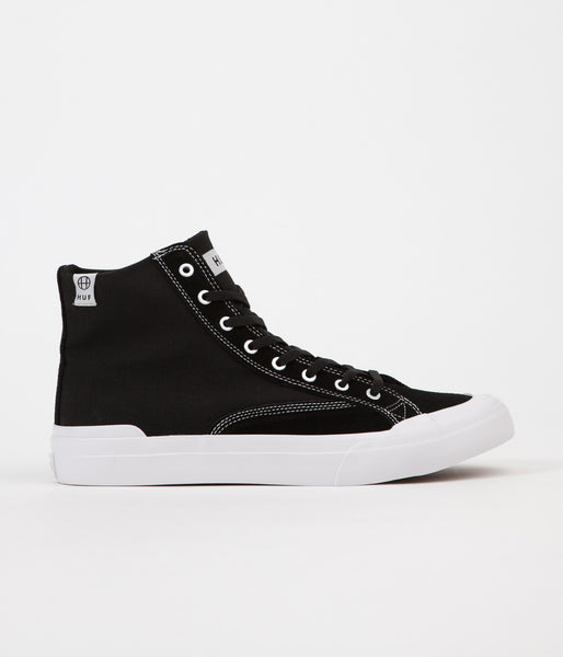 HUF Classic Hi ESS Shoes - Black / White