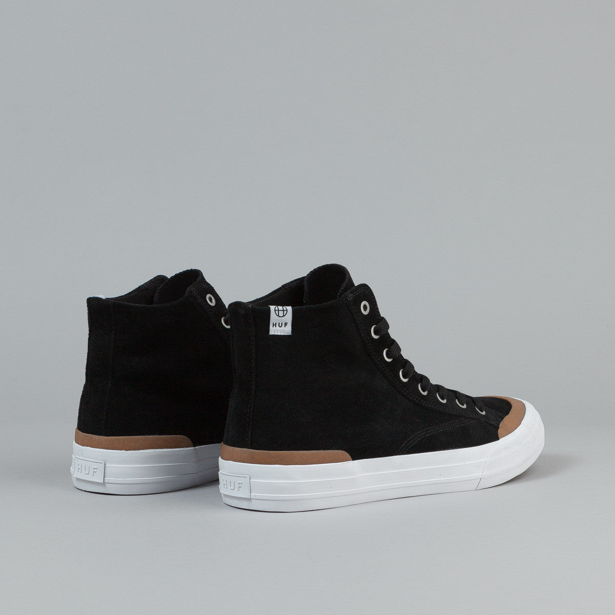 HUF Classic Hi Shoes - Black / Gum