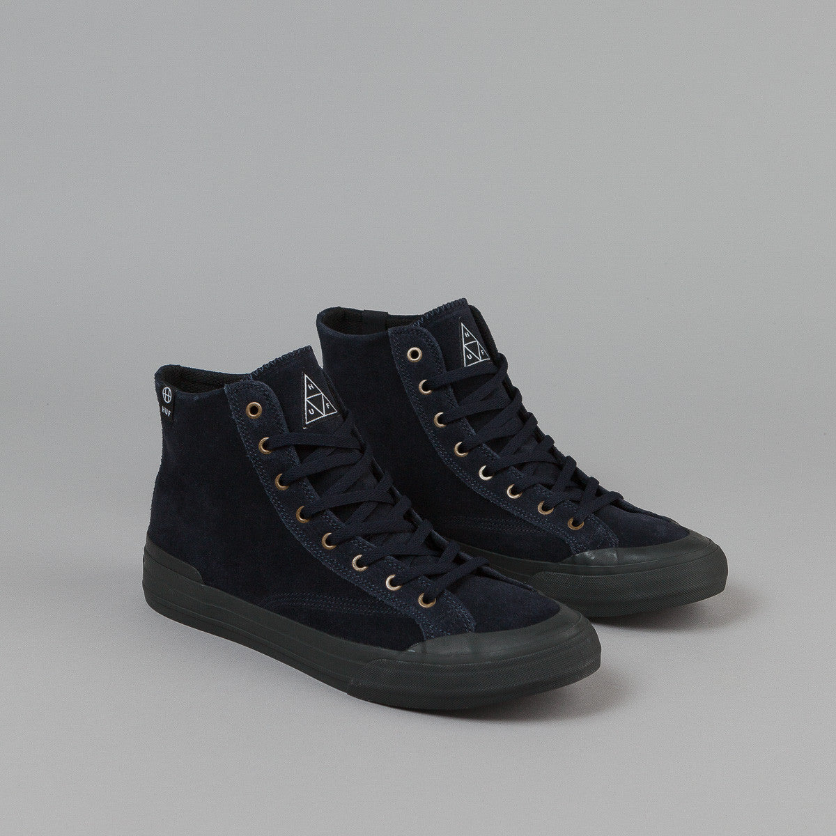 HUF Classic Hi Shoes - Dark Navy / Black
