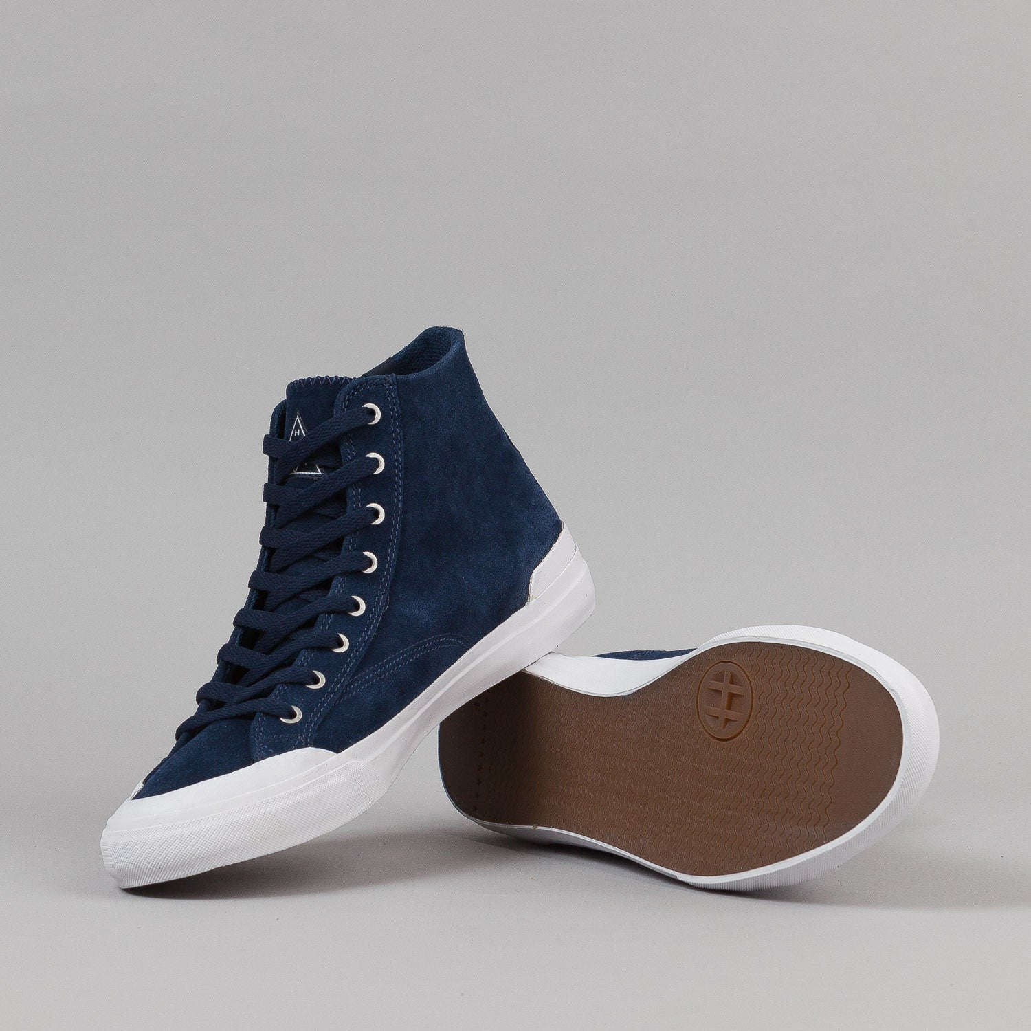 HUF Classic Hi Shoes - Navy / Seaport