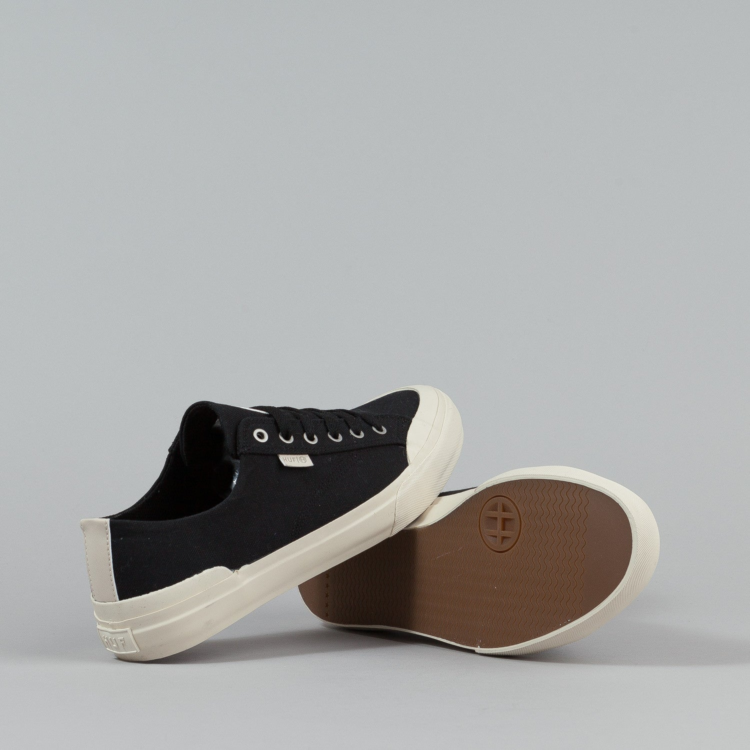 HUF Classic Lo Shoes - Black Canvas