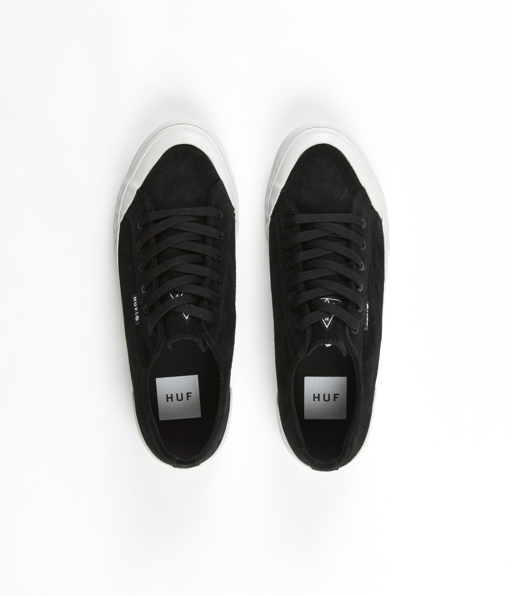 HUF Classic Lo Shoes - Black / Bone