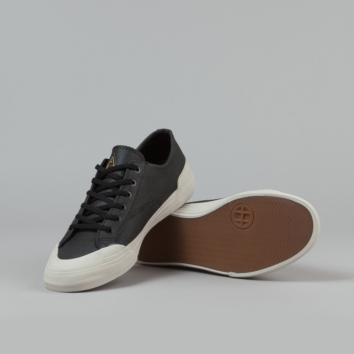 HUF Classic Lo Shoes - Black Elephant