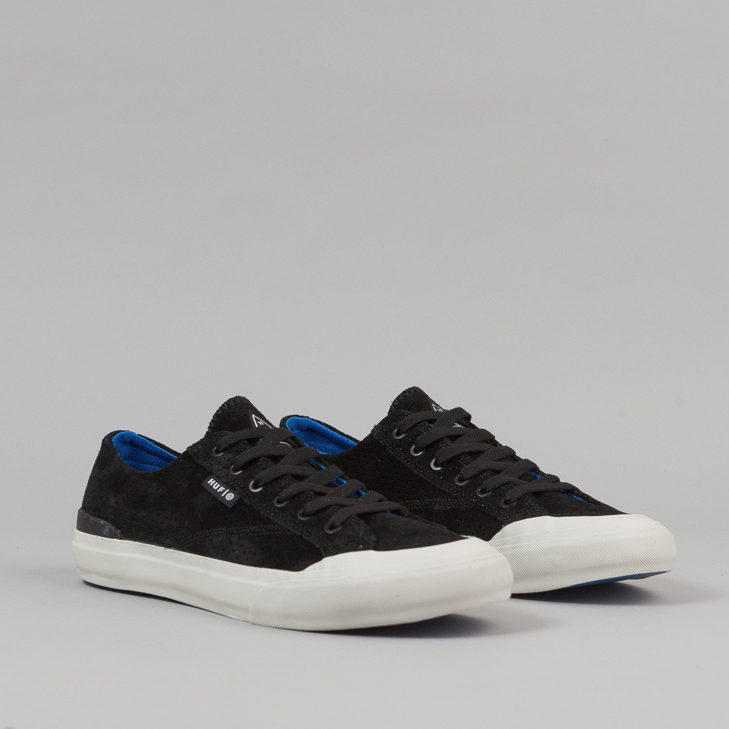 HUF Classic Lo Shoes - Black Perf / Royal