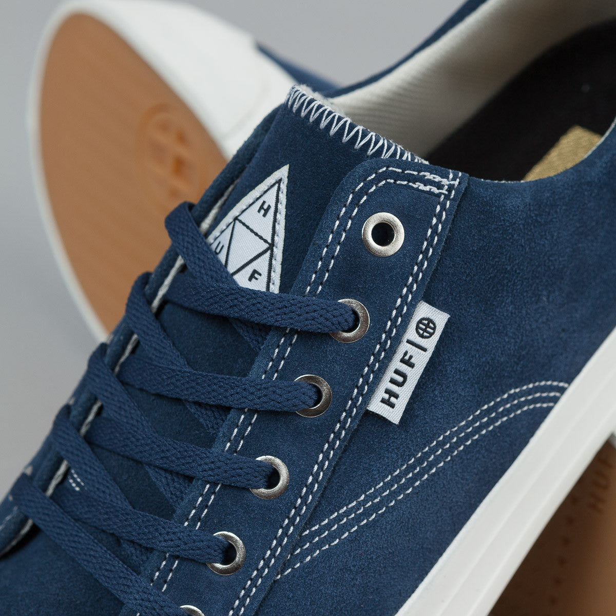 HUF Classic Lo Shoes - Navy