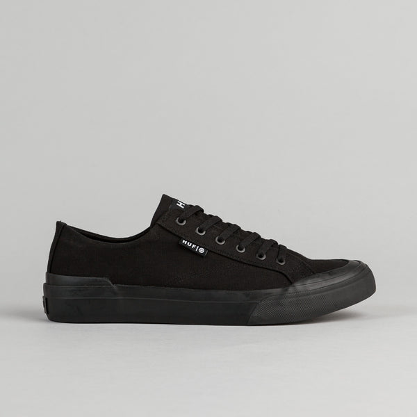 HUF Classic Lo ESS TX Shoes - Black / Black
