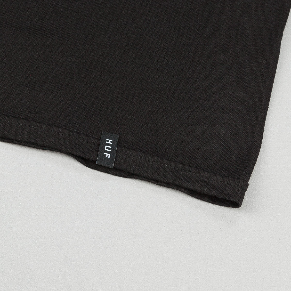 HUF Classic Youth Box Logo T-Shirt - Black
