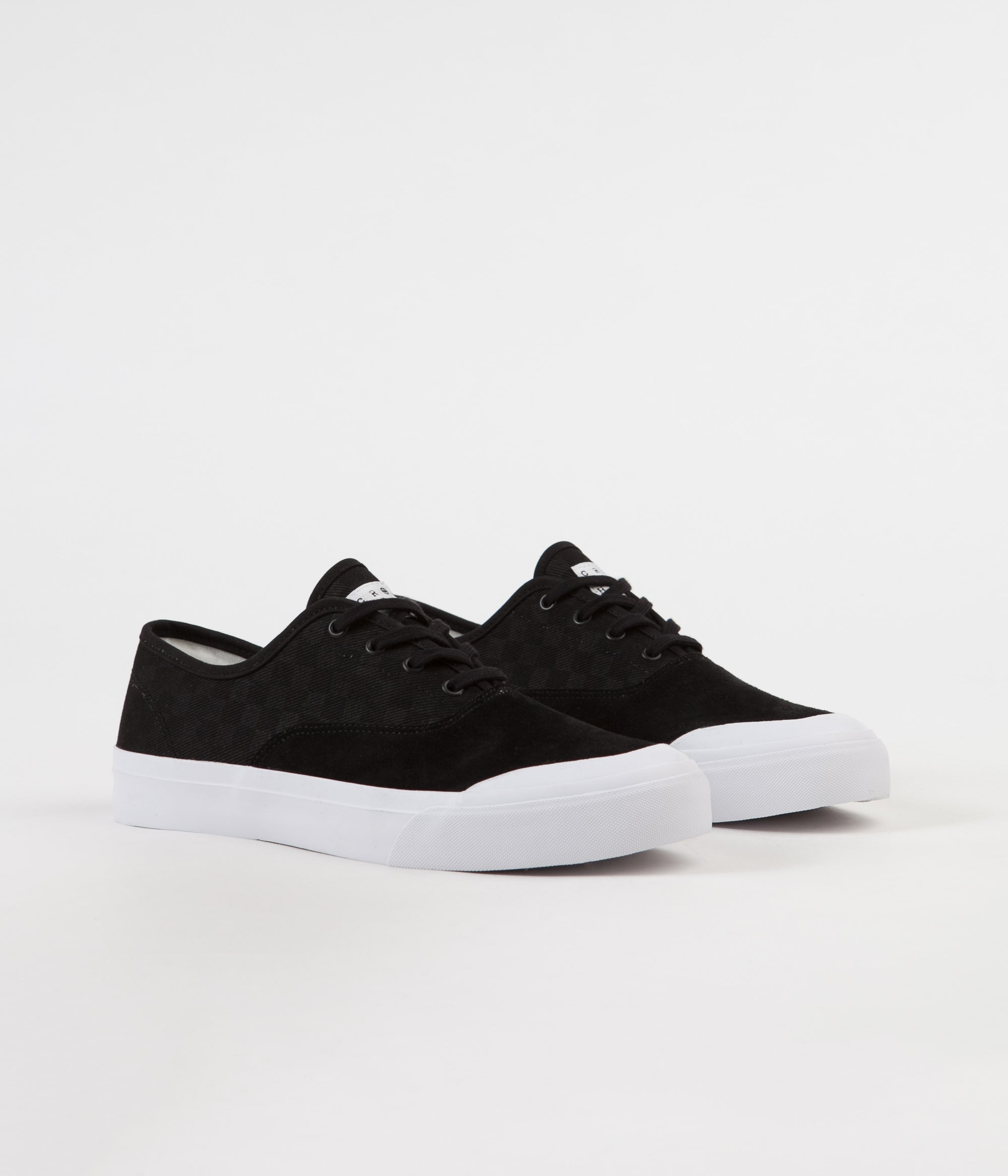 5951a23ccf ... HUF Cromer Shoes - Black ...