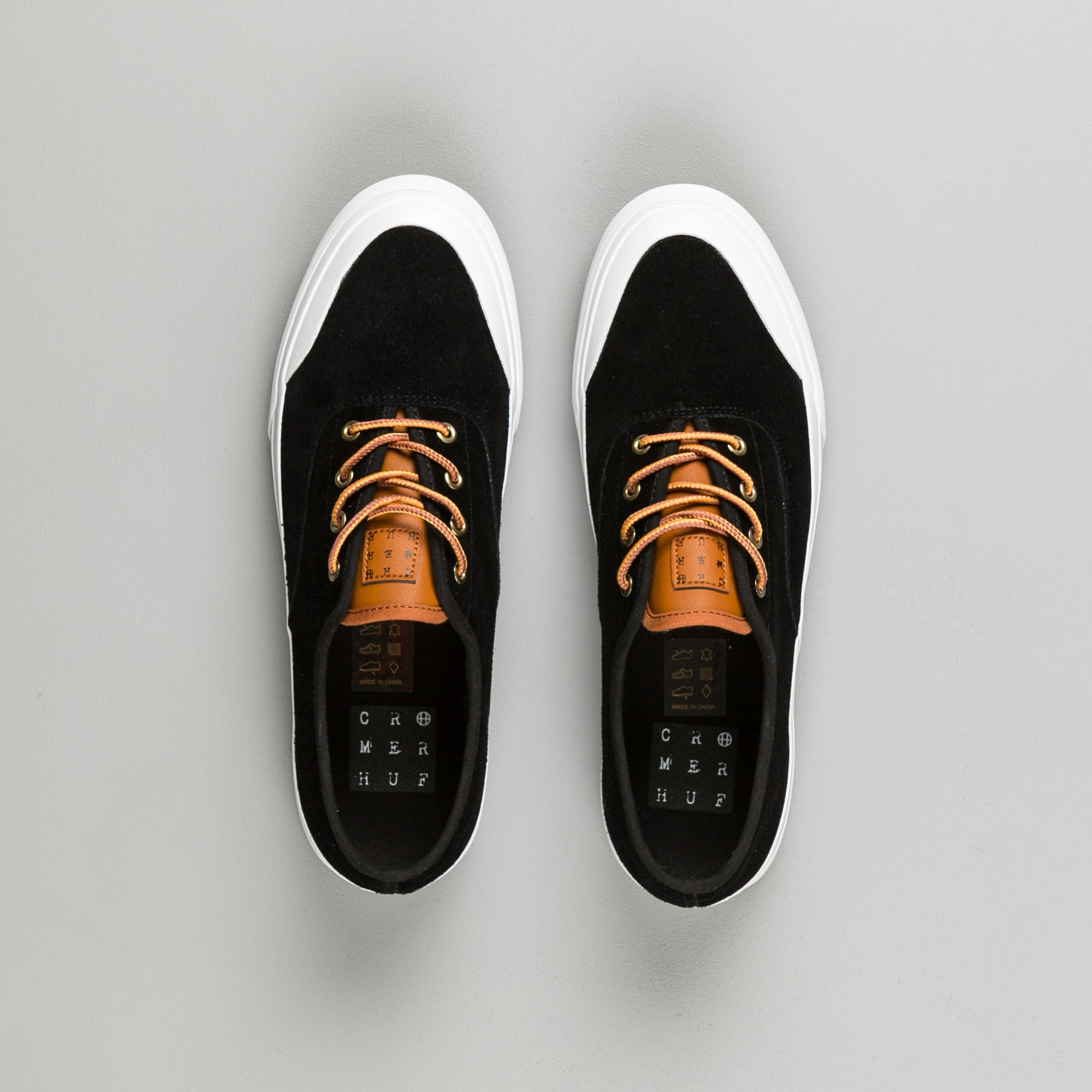 HUF Cromer Shoes - Black / Baseball