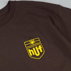 HUF Delivery T-Shirt - Brown