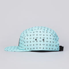 HUF X Diamond Repeat 5 Panel Volley Cap All Over Print