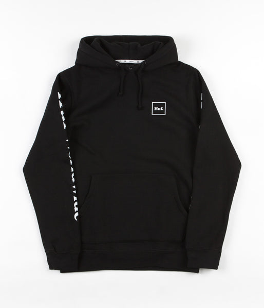 HUF Domestic Hooded Sweatshirt - Black