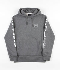HUF Domestic Hooded Sweatshirt - Gunmetal Heather