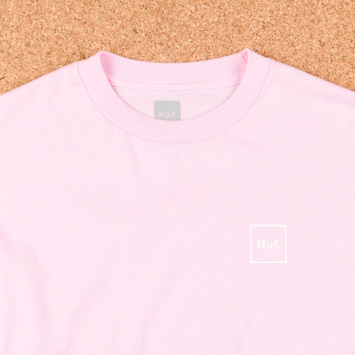 HUF Domestic Long Sleeve T-Shirt - Pink / White