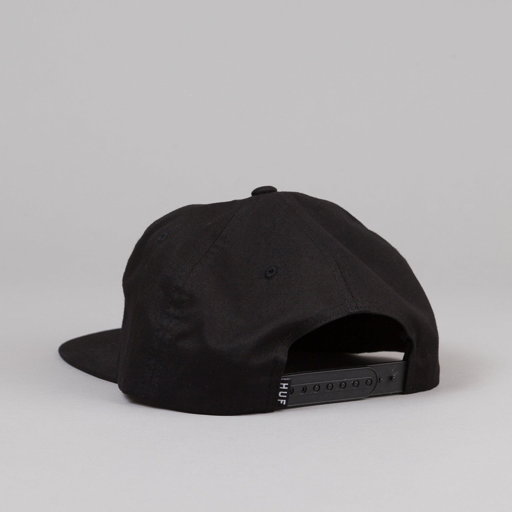HUF Domestic Snapback Cap Black