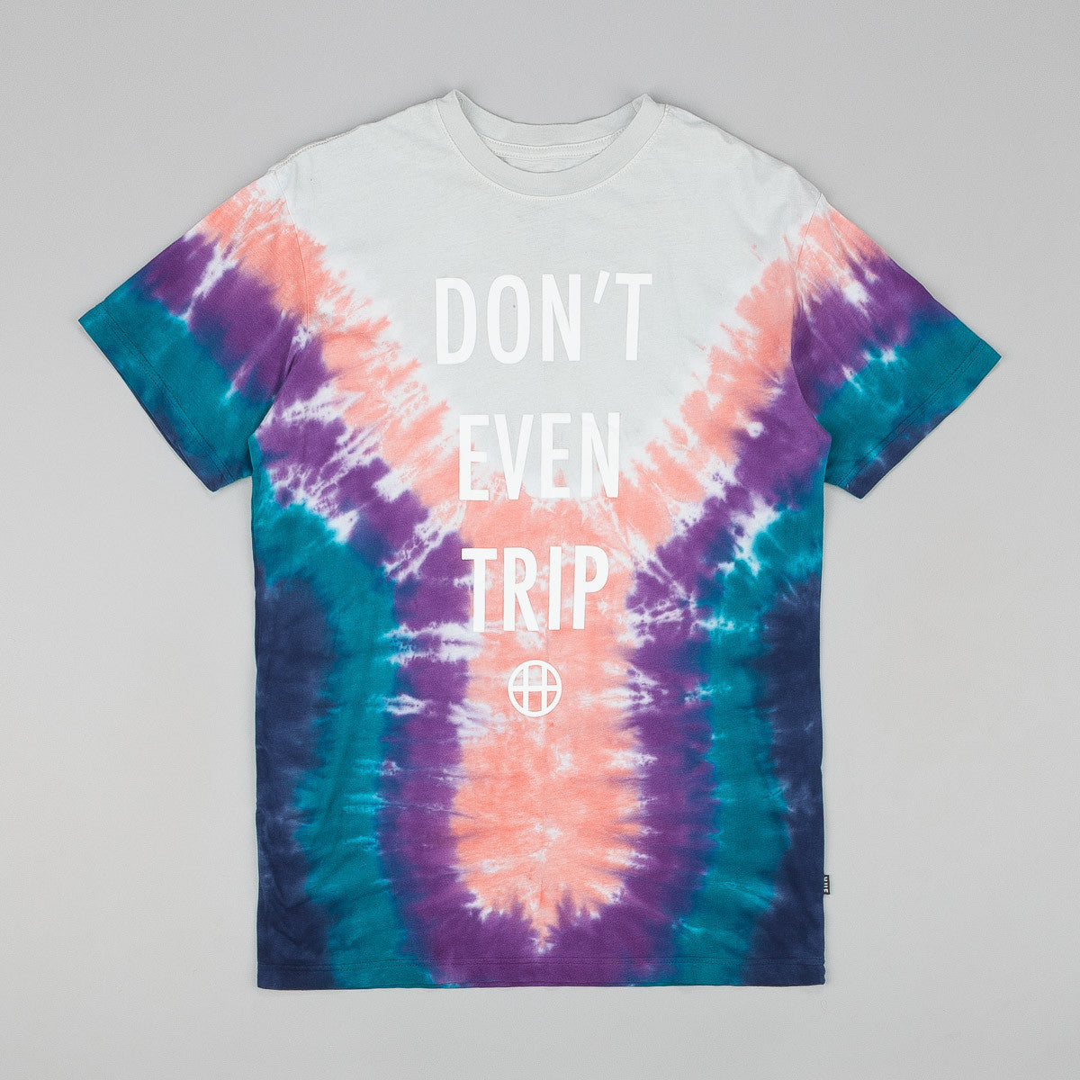 Huf Dont Even Trip T Shirt Dark Teal