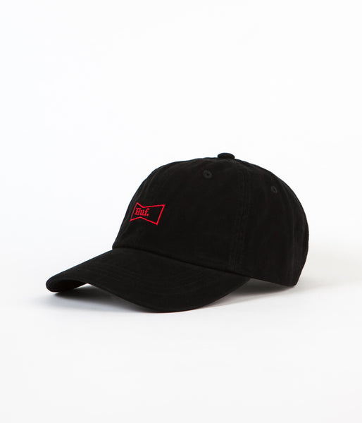 HUF Drink Up 6 Panel Cap - Black