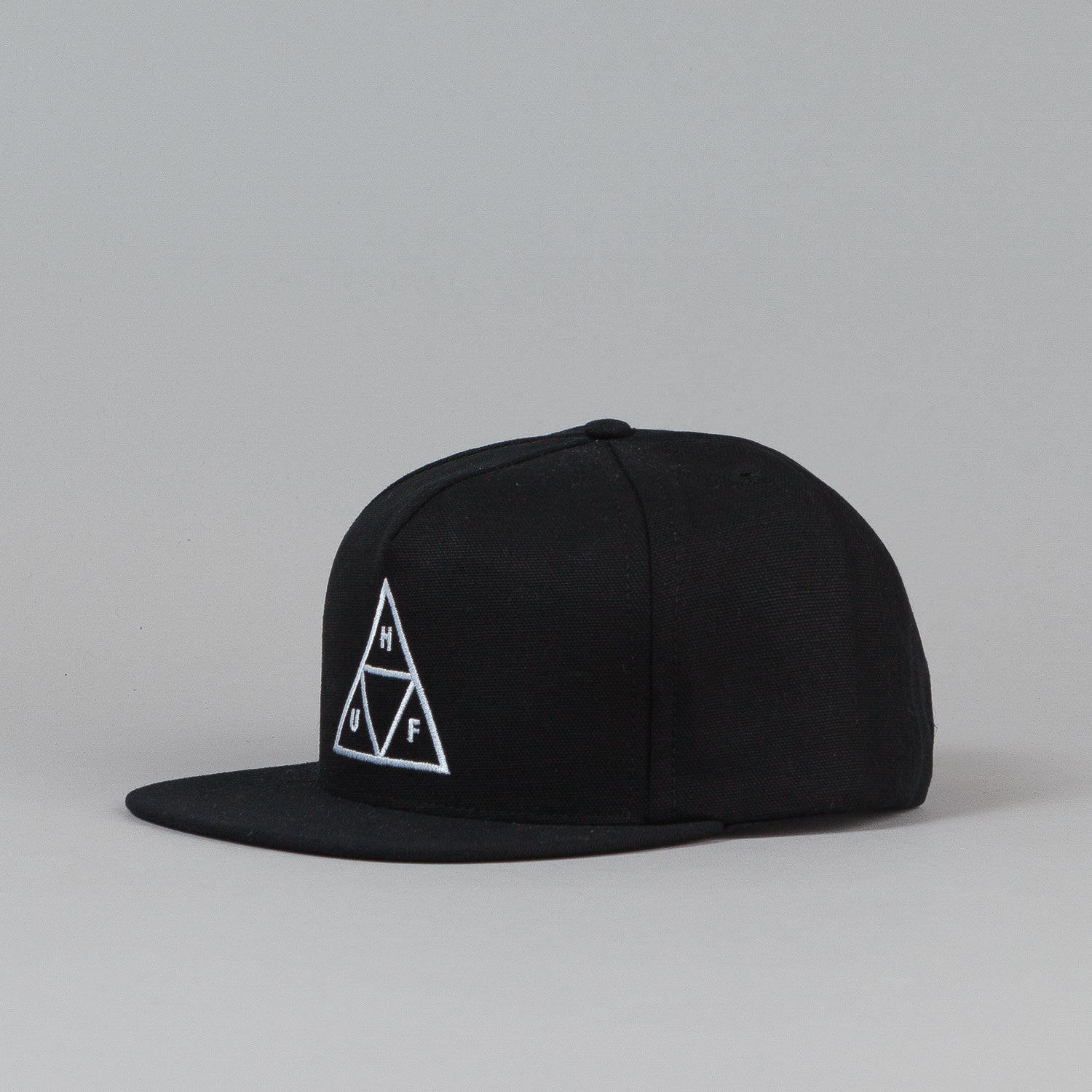 Huf DWR Triple Triangle Snapback Cap Black