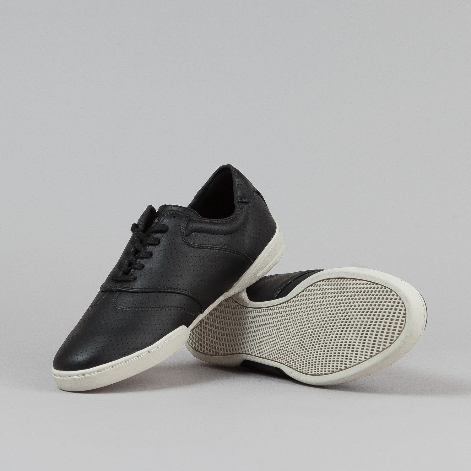 HUF Dylan Shoes - Black Perf / Bone White