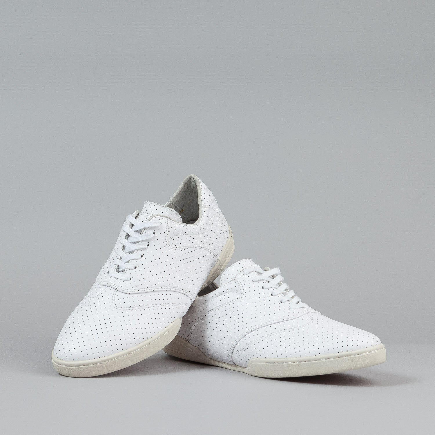HUF Dylan Shoes - White Perf Leather