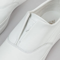 HUF Dylan Slip On Leather Shoes - White