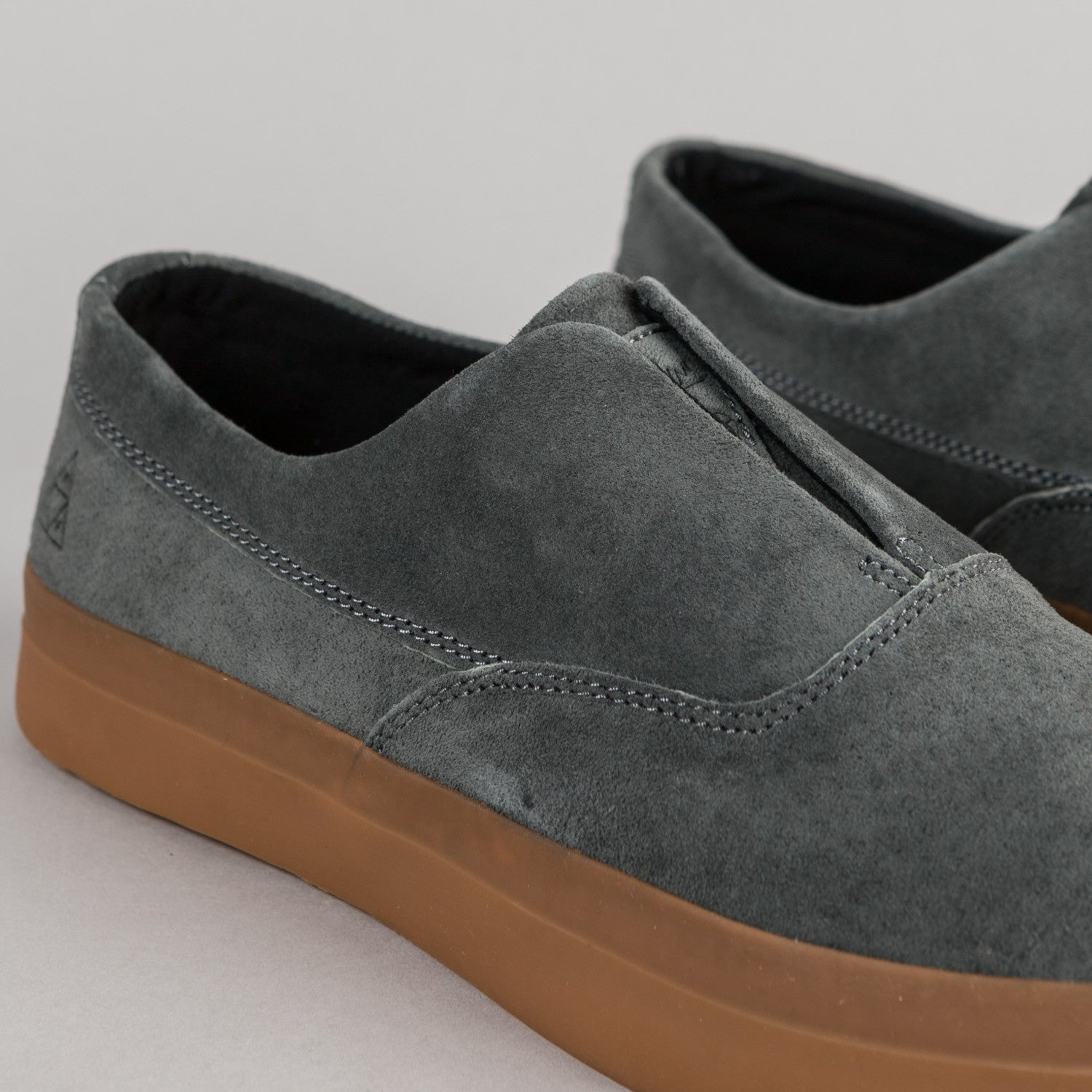 HUF Dylan Slip On Shoes - Charcoal