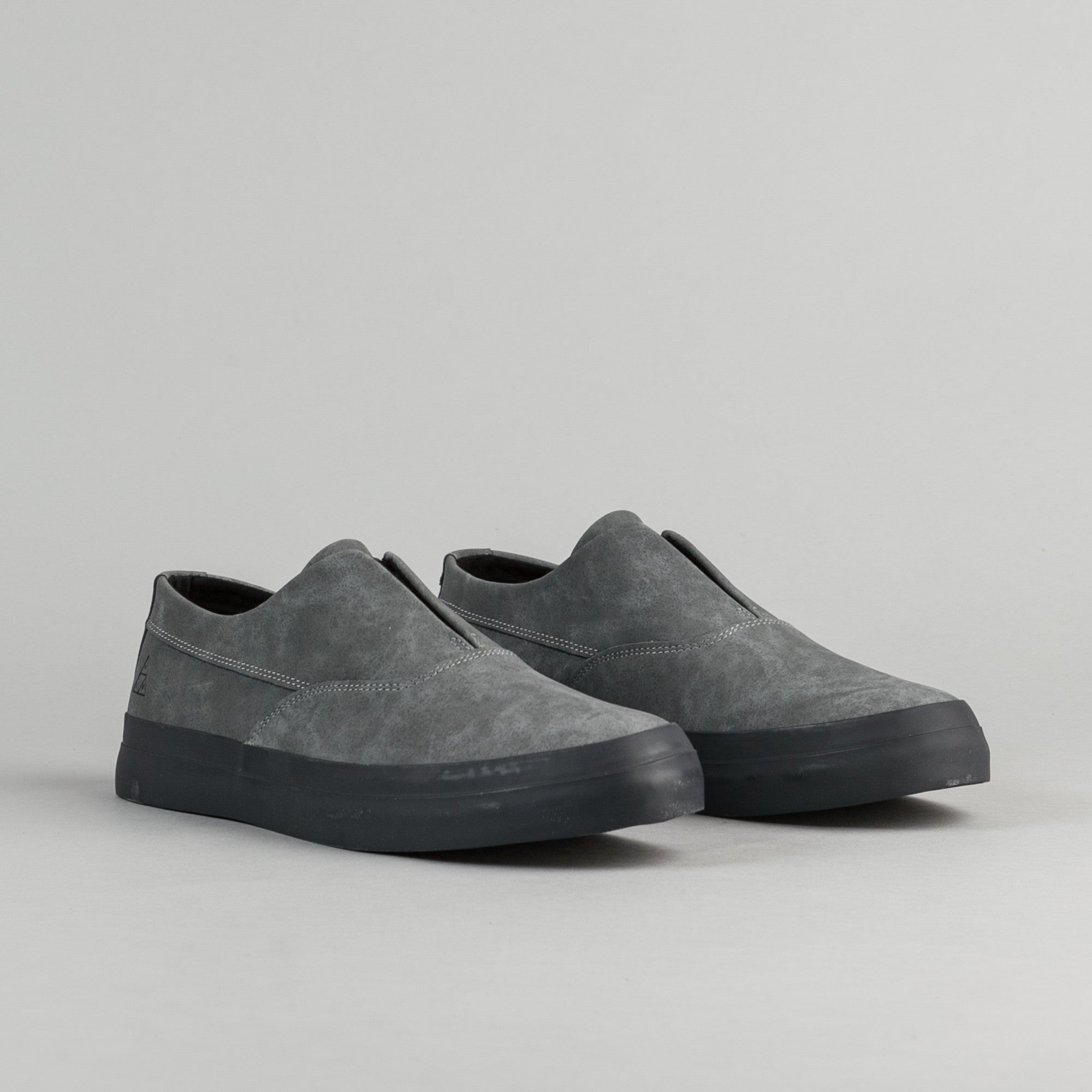 HUF Dylan Slip On Shoes - Steel / Asphalt
