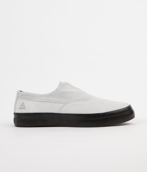 HUF Dylan Slip On Shoes - White / Black