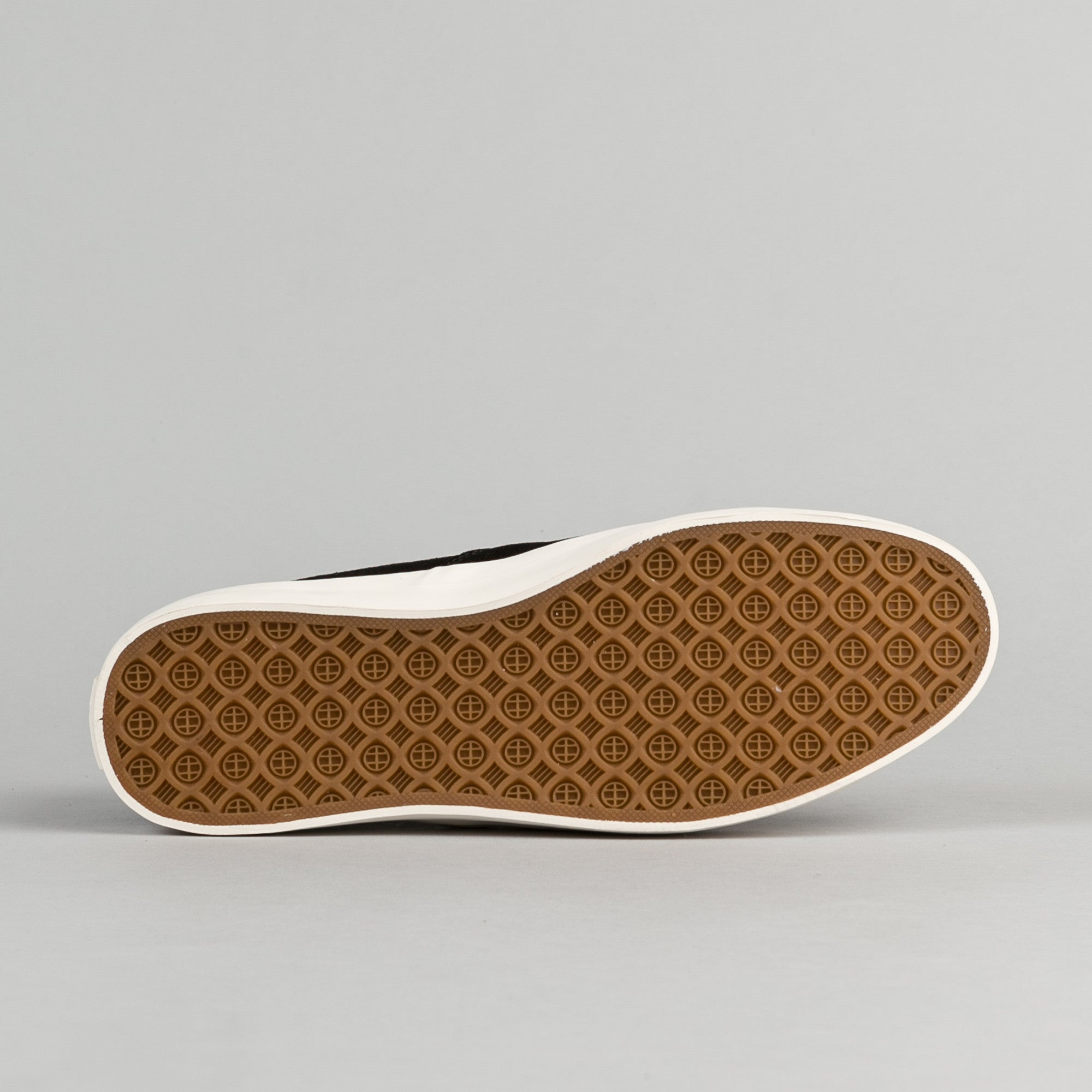 HUF Dylan Slip On Suede Shoes - Black / White