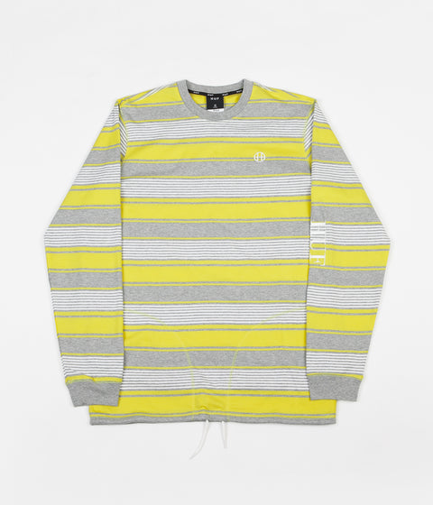 HUF Essex Knit Long Sleeve T-Shirt - Aurora Yellow