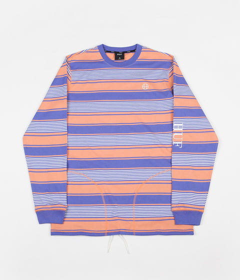 HUF Essex Knit Long Sleeve T-Shirt - Canyon Sunset