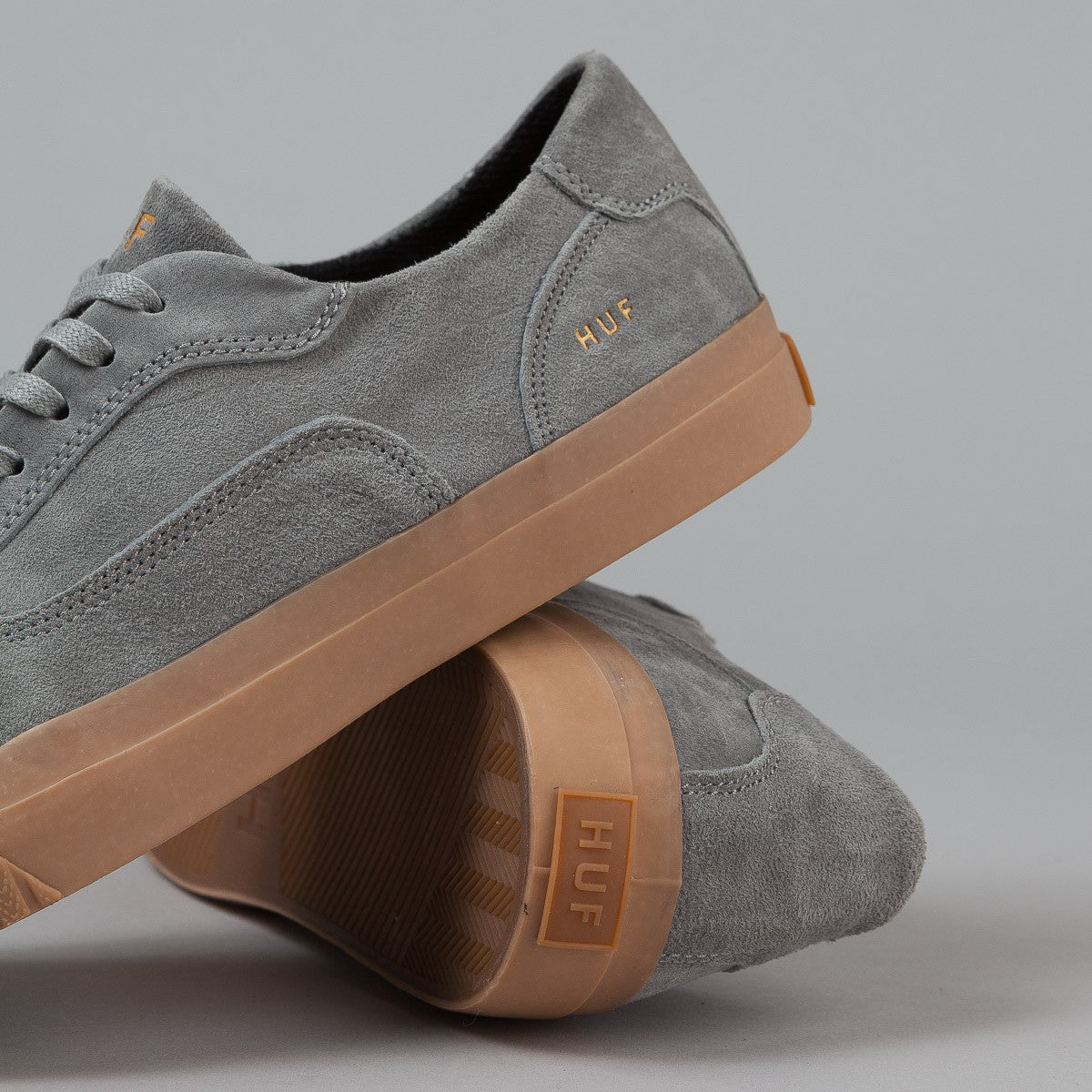 HUF Essex Shoes - Grey / Gum